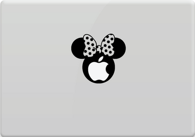 Minnie Mouse con manzana
