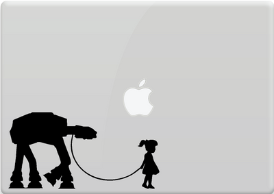 AT-TE con niña | AT-AT WALKER with girl - Star Wars