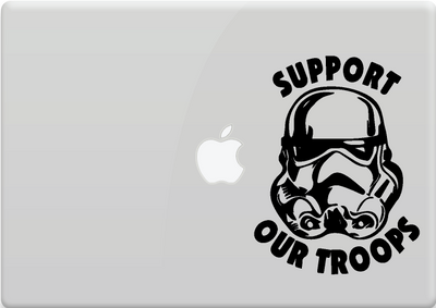 "Stormtrooper | Stormtrooper ""Support our Troops"" - Star Wars"