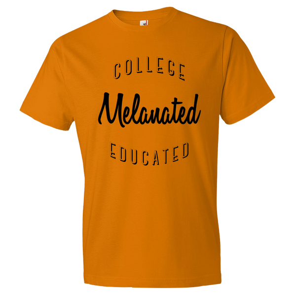 Melanated, College Educated Men's T-Shirt