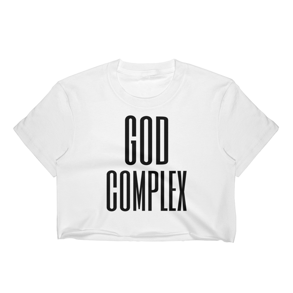 God Complex Crop Top