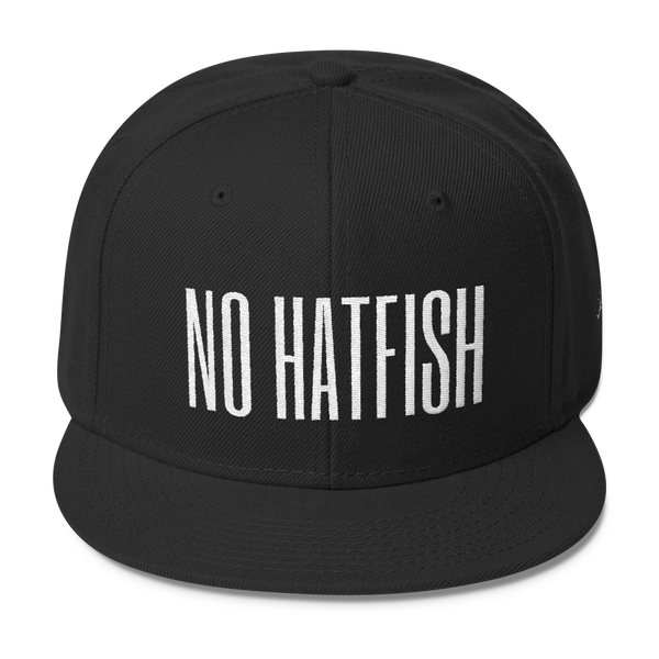 No Hatfish Wool Blend Snapback