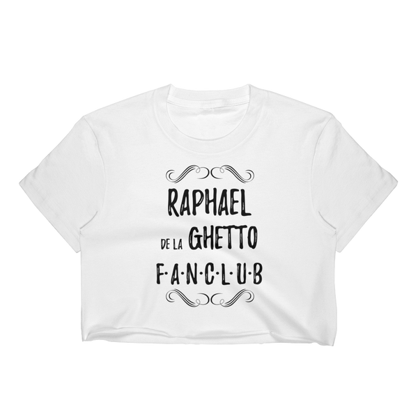 Raphael De La Ghetto Crop Top