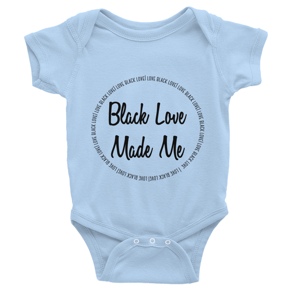 Black Love Made Me Onesie