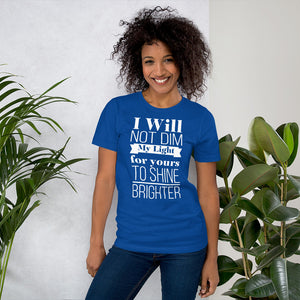 Small Island Girl Born To Shine Short-Sleeve Unisex T-Shirt - Small Island Girl