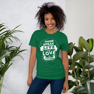 Small Island Girl Life Goals Short-Sleeve Unisex T-Shirt - Small Island Girl