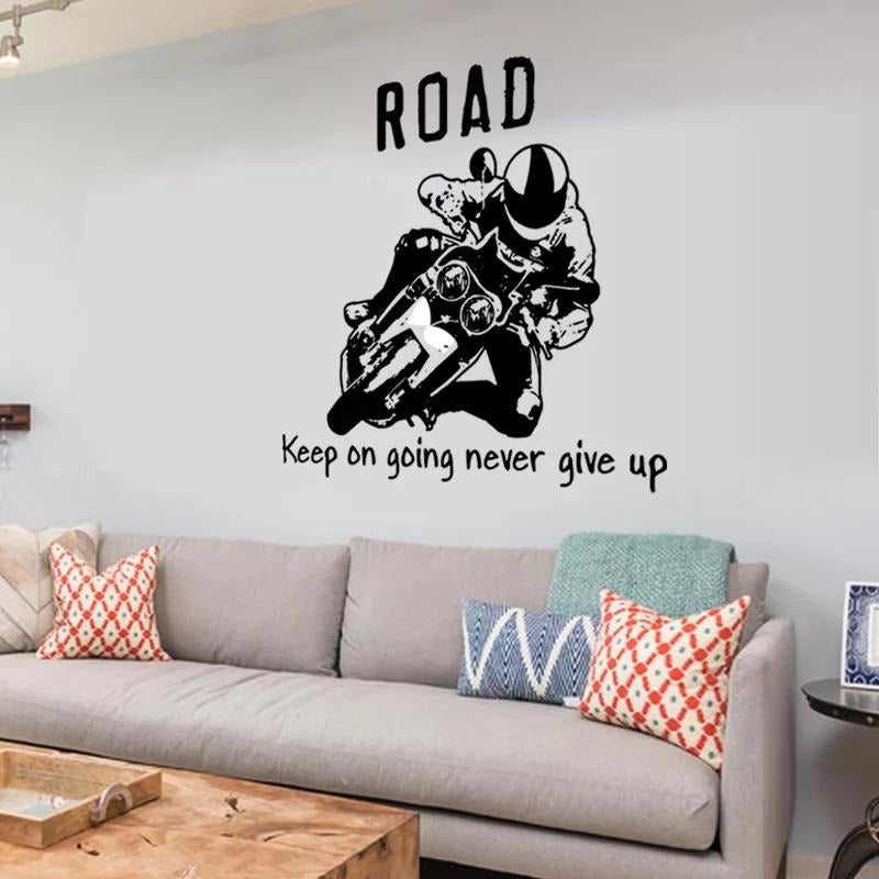 Road- Keep going
