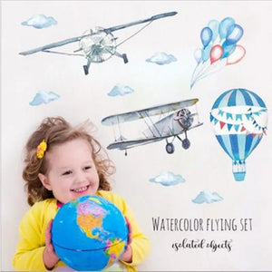 Watercolor Flying Set