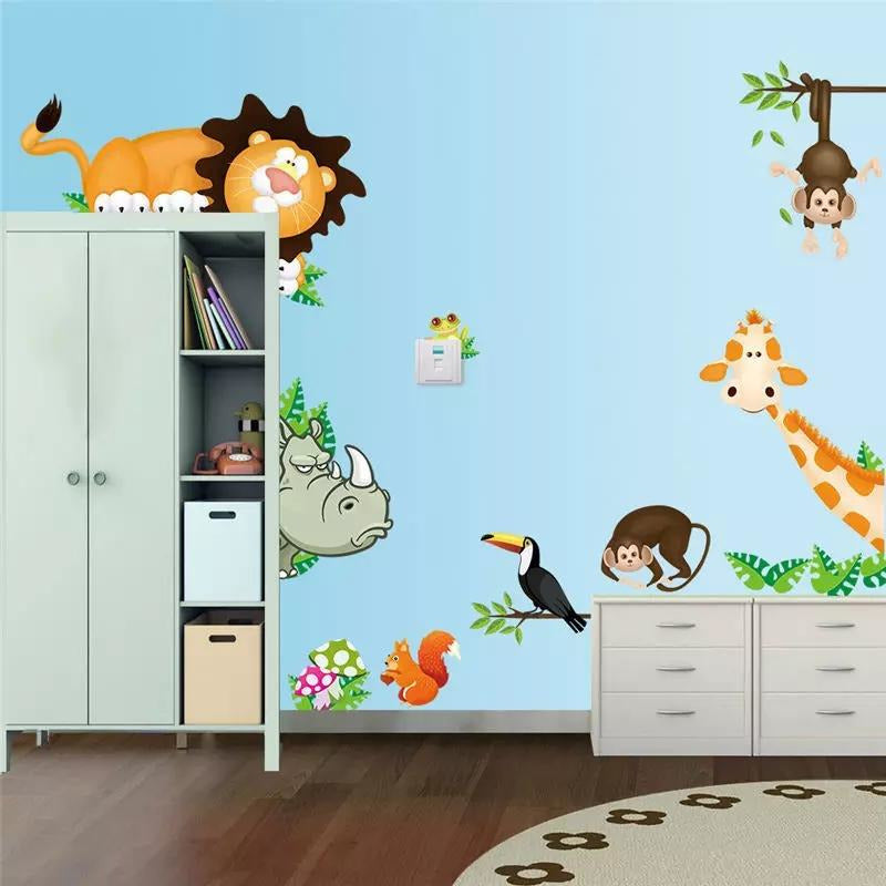 Corner Jungle Animals