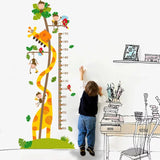 Giraffe & Monkey Growth Chart