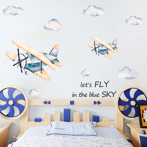 Fly in the Blue Sky