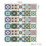 Colorful Decorative Strips 18*100cm X 6strips