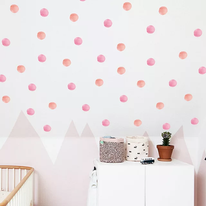 Pink Polka Dots ( Small Sheet)