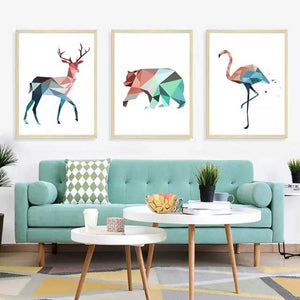 Geometric Animal Frames