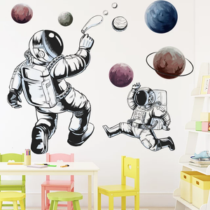 Outer Space Astronauts (black)