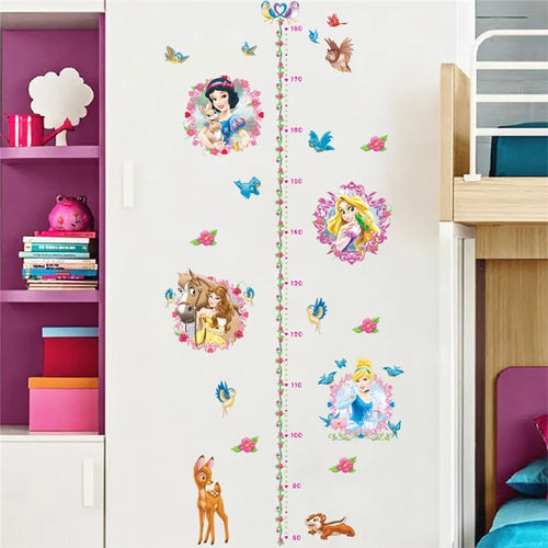 Disney Princesses Growth Chart