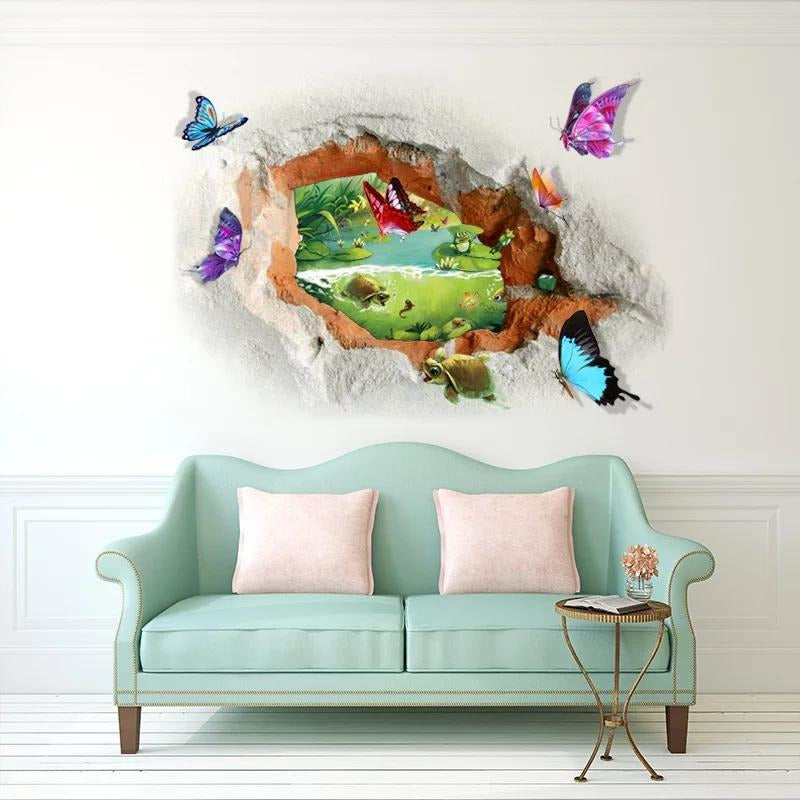 3D Butterfly View
