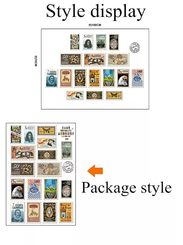 Brown Postage Stamps