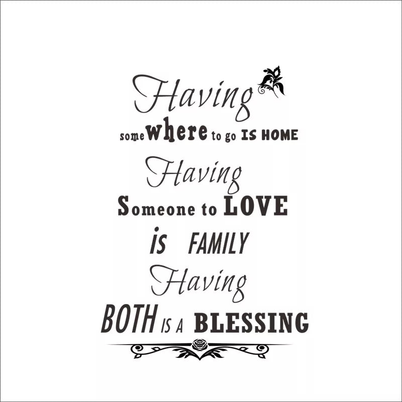 Having Family is a Blessing
