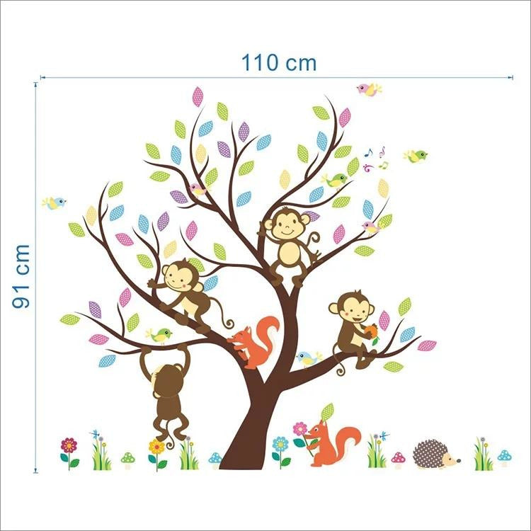 Monkey & Squirrel Tree