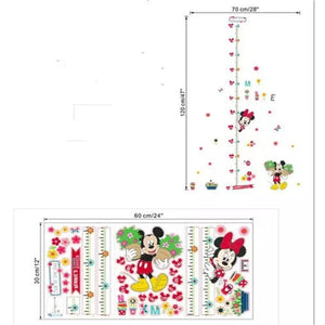 Mickey & Minnie Growth Chart
