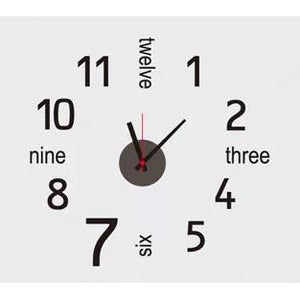 DIY Clock - Numbers