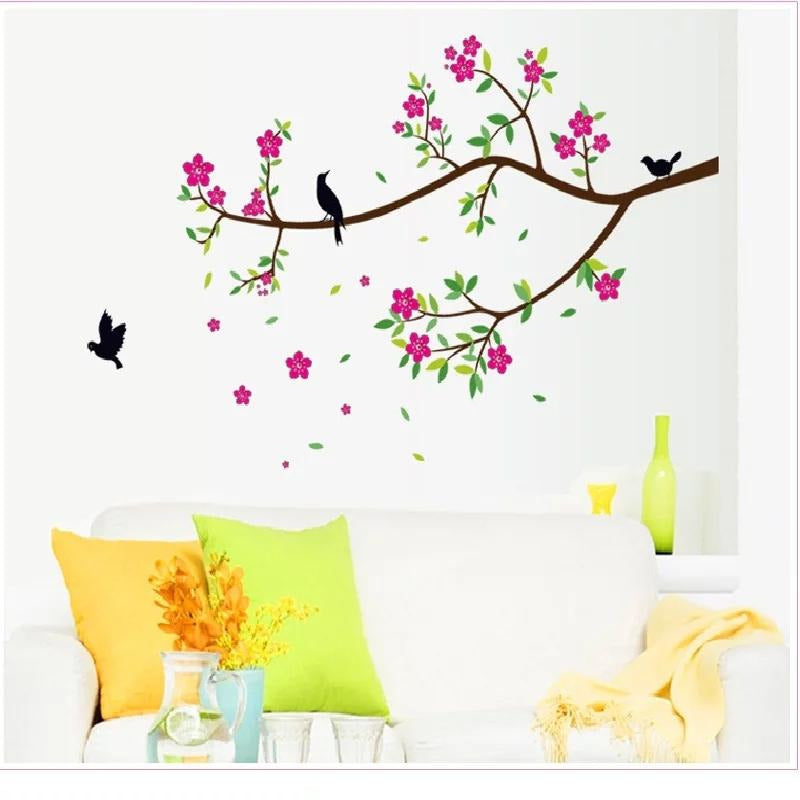 Cute Flowers and Birds