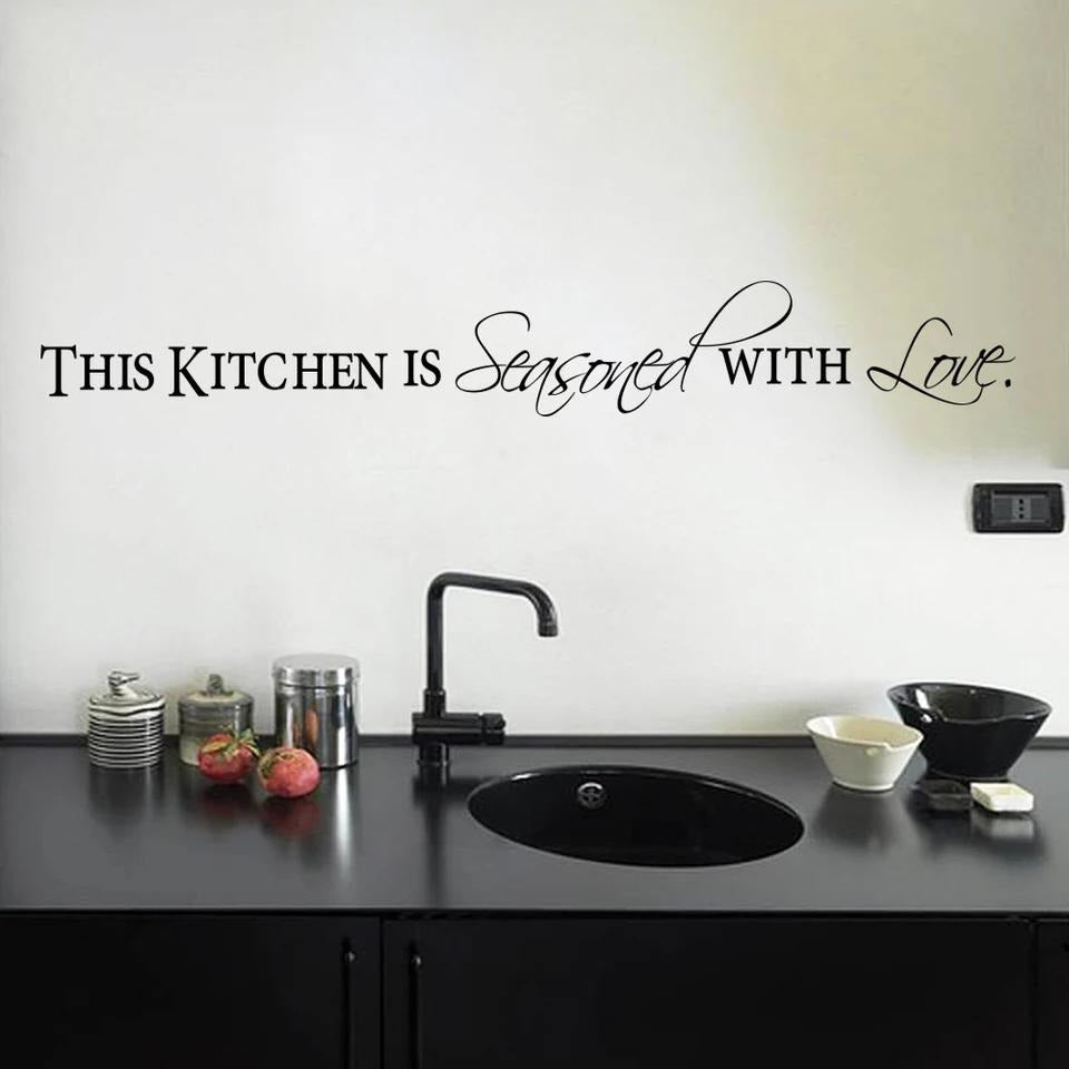 Kitchen is Seasoned with Love