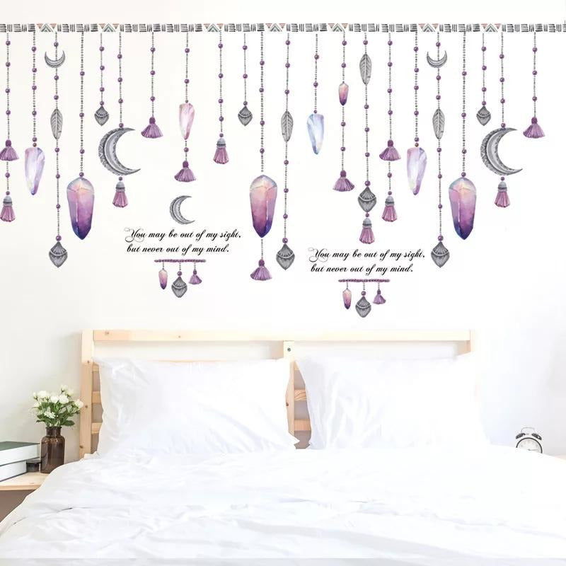 Purple Hanging Stones