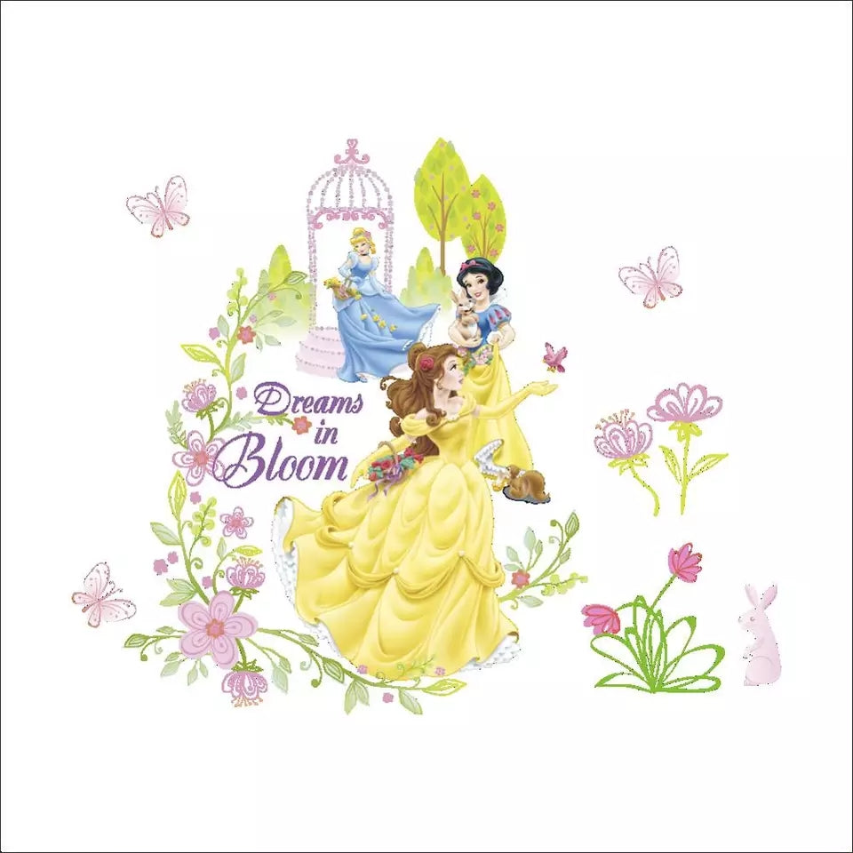 Princess Belle & Friends (very small)