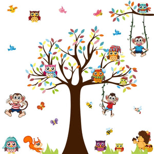Owl Tree and Friends