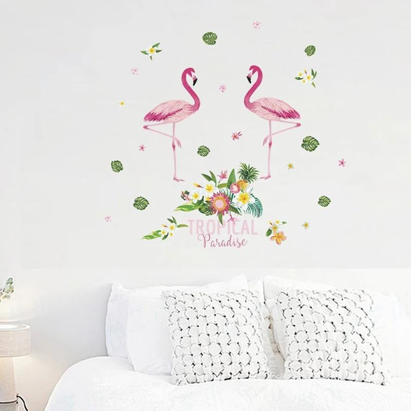 Tropical Paradise Flamingo