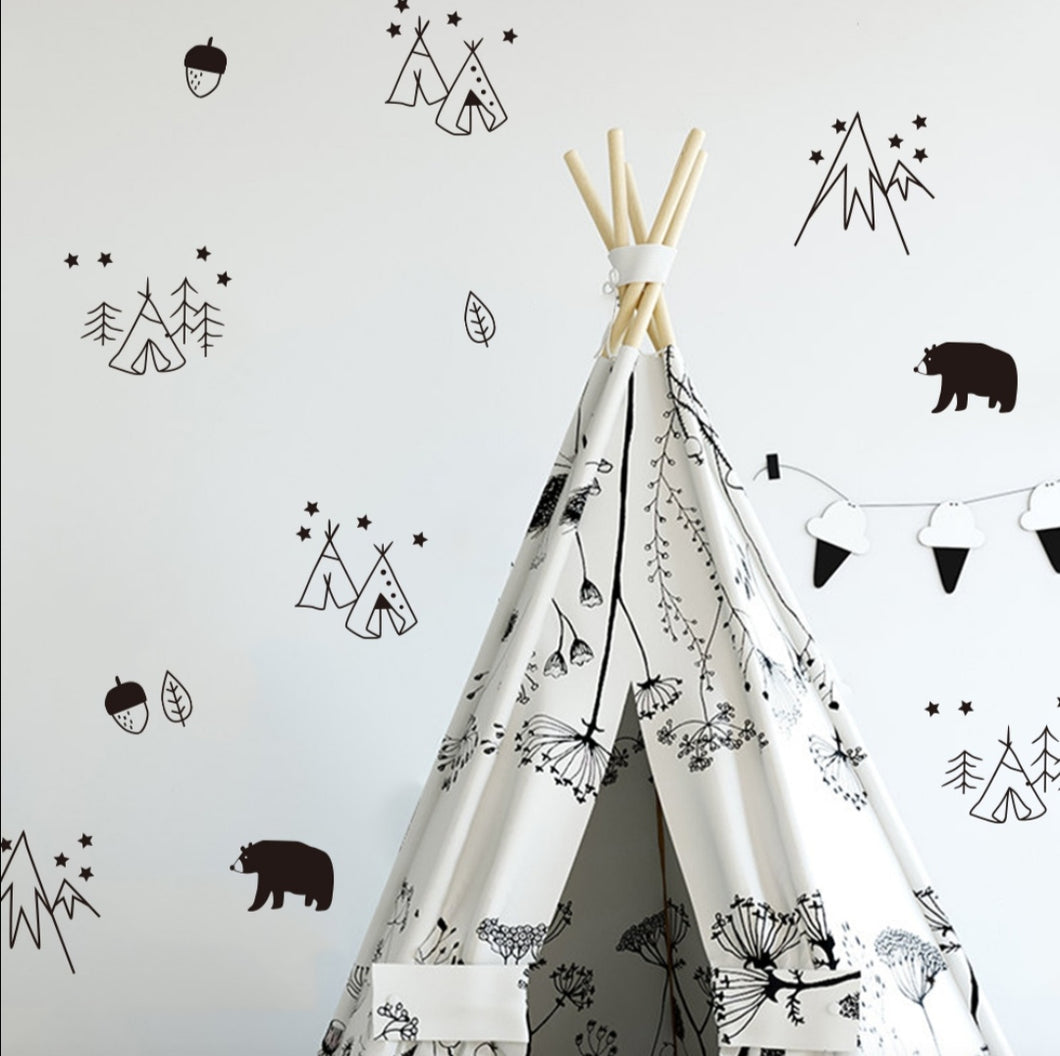 Bears & Camp Tents