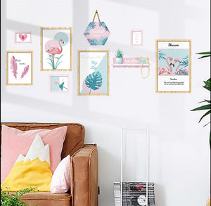 Pretty Flamingo Frames