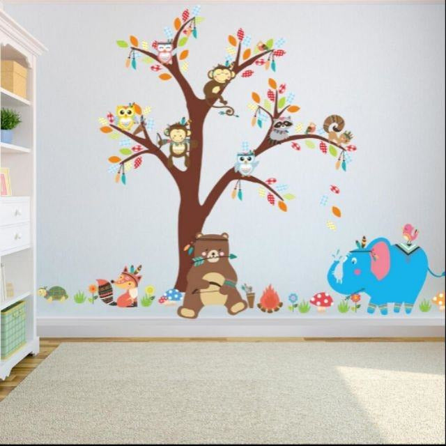 Elephant & Bear Tree