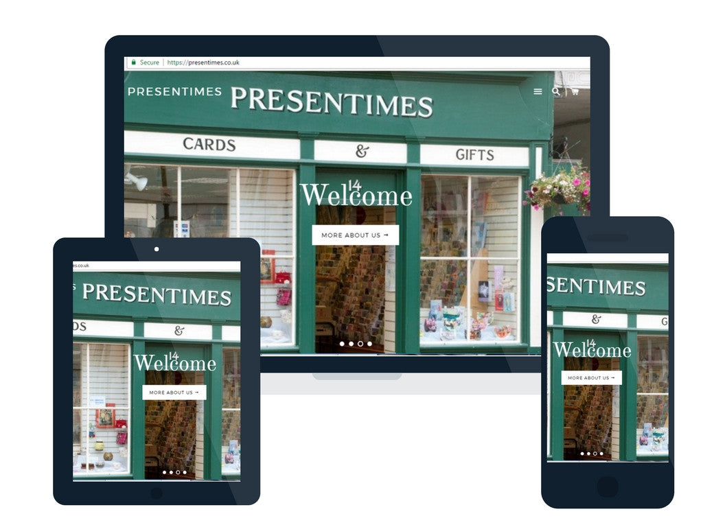 Welcome to the New Presentimes Website