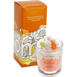 Peach Belini Piped Candle | Presentimes