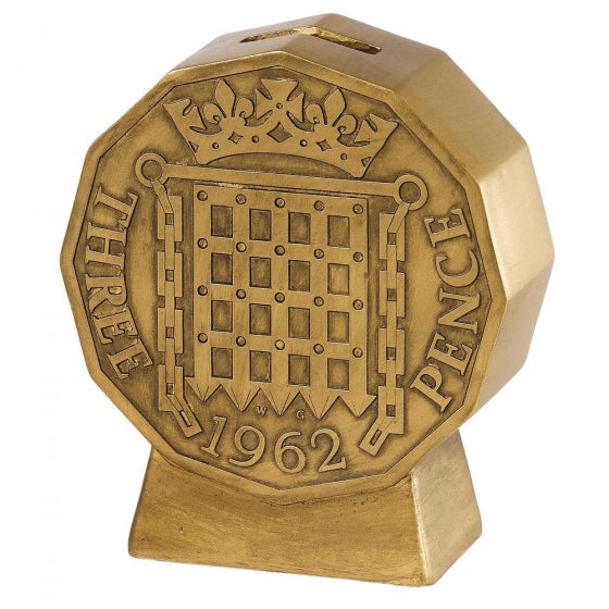 Threepence Money Bank | Presentimes