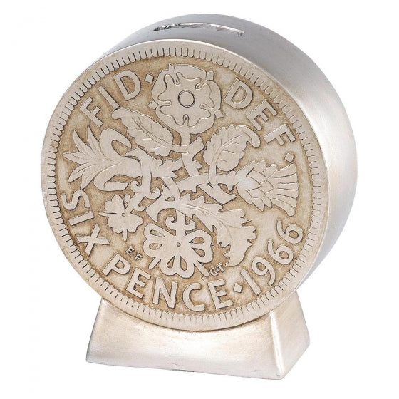 Sixpence Money Bank | Presentimes