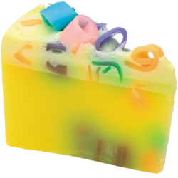 Pina Pinata Soap Cake Sliced | Presentimes