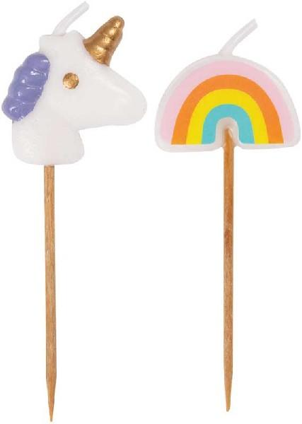 UNICORN & RAINBOW PICK CANDLES | Presentimes