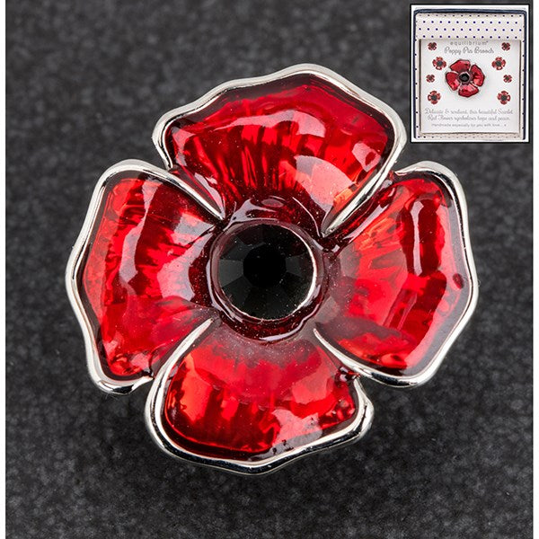 Equilibrium Poppy Pin Large | Presentimes