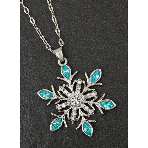 Eq Icicle Snowflake Necklace | Presentimes