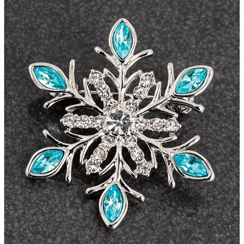Eq Icicles Snowflake Brooch | Presentimes