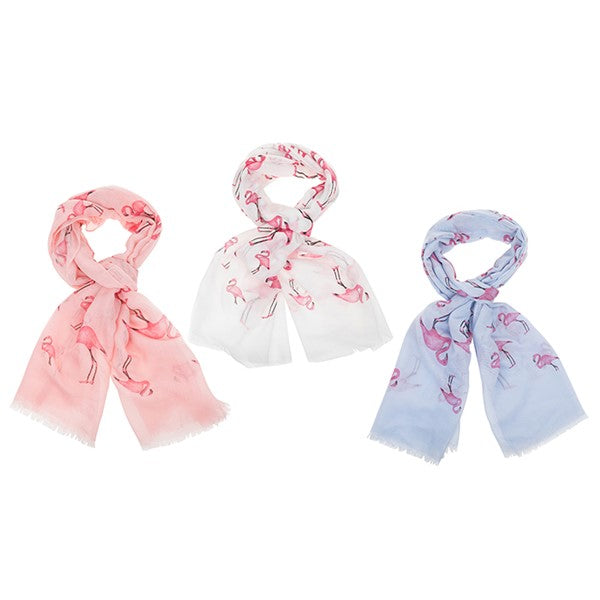 Tropical Flamingos Scarf | Presentimes