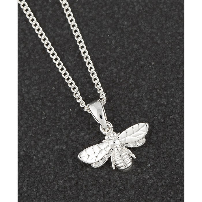 Honey Bee Detailed Silver Plated Necklace | Presentimes