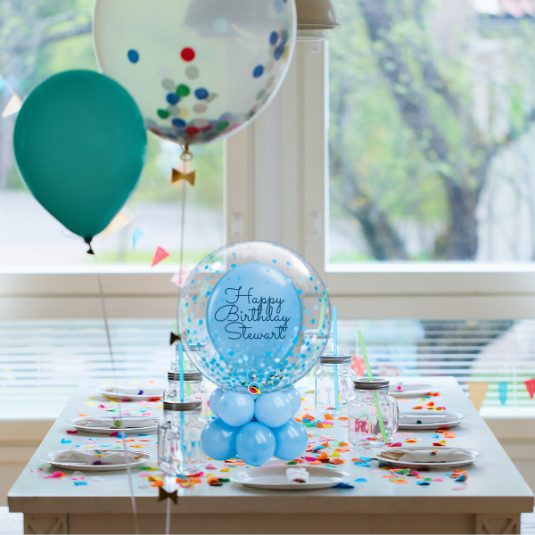 "24"" Table Top Personalised Deco Topper Balloon 