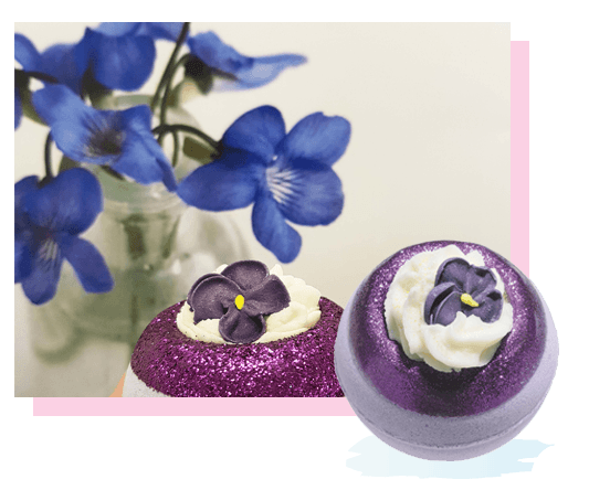 V for Violet Bath Blaster | Presentimes