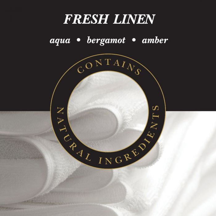 Fresh Linen Lamp Fragrance 250ml | Presentimes