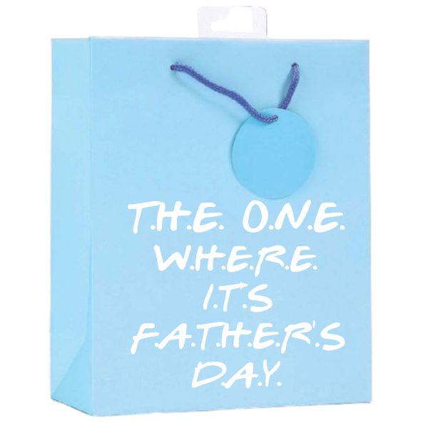 <b> NEW! <br> 11 COLOURS AVAILABLE </b><br> Personalised Father's Day Gift Bag <br> (FREE Tissue Paper Included) | Presentimes